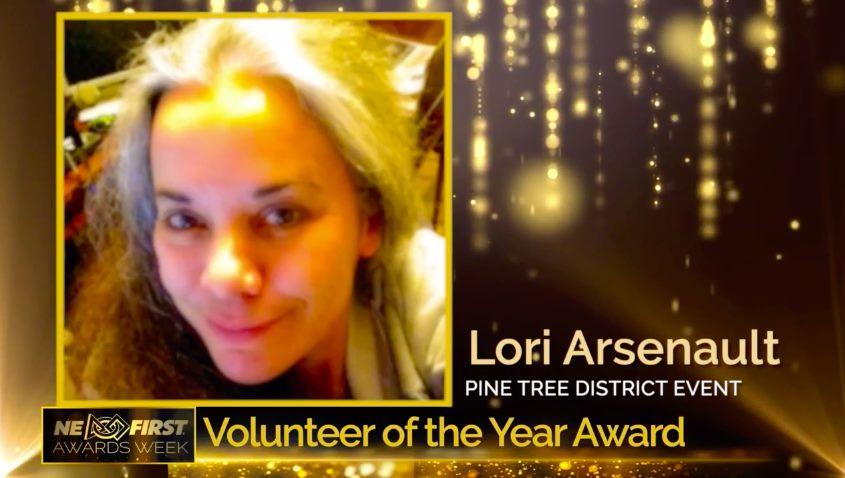 Pine Tree Volunteer of the Year